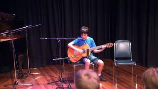 """Max (guitar) performs """"House of the rising sun"""""""