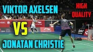 Jonatan CHRISTIE vs Viktor AXELSEN (HIGH QUALITY) | MALAYSIA OPEN 2019 MS - QUARTER FINALS