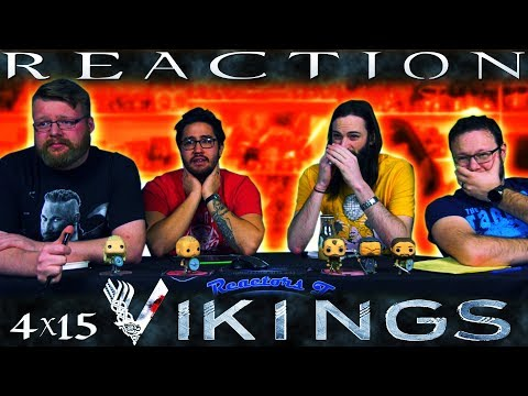 """Vikings 4x15 REACTION!! """"All His Angels"""""""