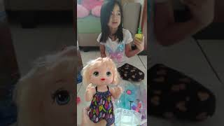 Review Mainan anak - Nuha & toshi toys review baby alive #toysreview #babyalive #mainananak #boneka