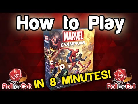 How To Play Marvel Champions: The Card Game