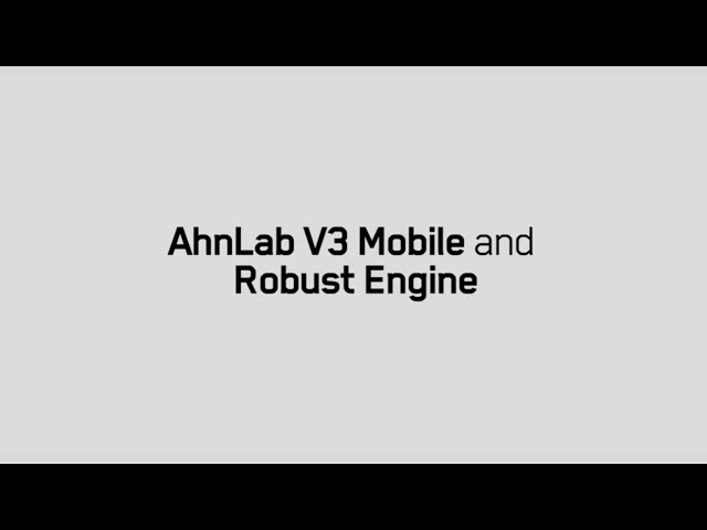AhnLab V3 Mobile 3.0 (Japanese)