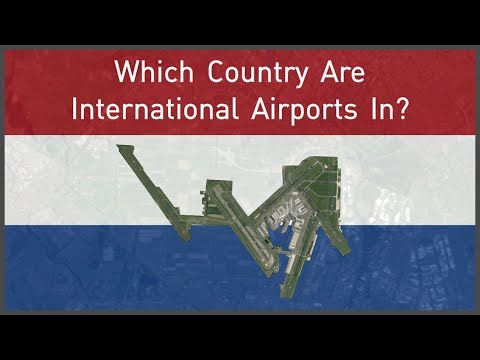 Which Country Are International Airports In?