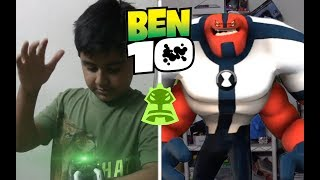 Young Ben 10 transformation - Four Arms