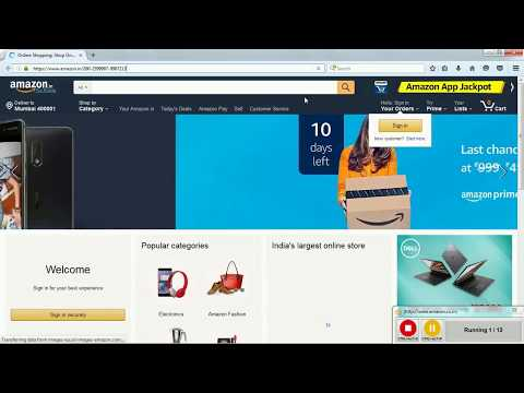 Lesson 10 WorkFusion RPA Express Web Element Xpath Excel Demo