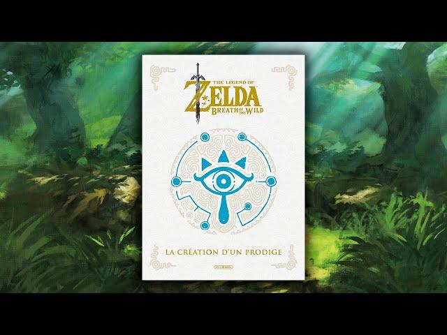 Zelda Breath of the Wild : La Création d'un Prodige – Artbook (français)