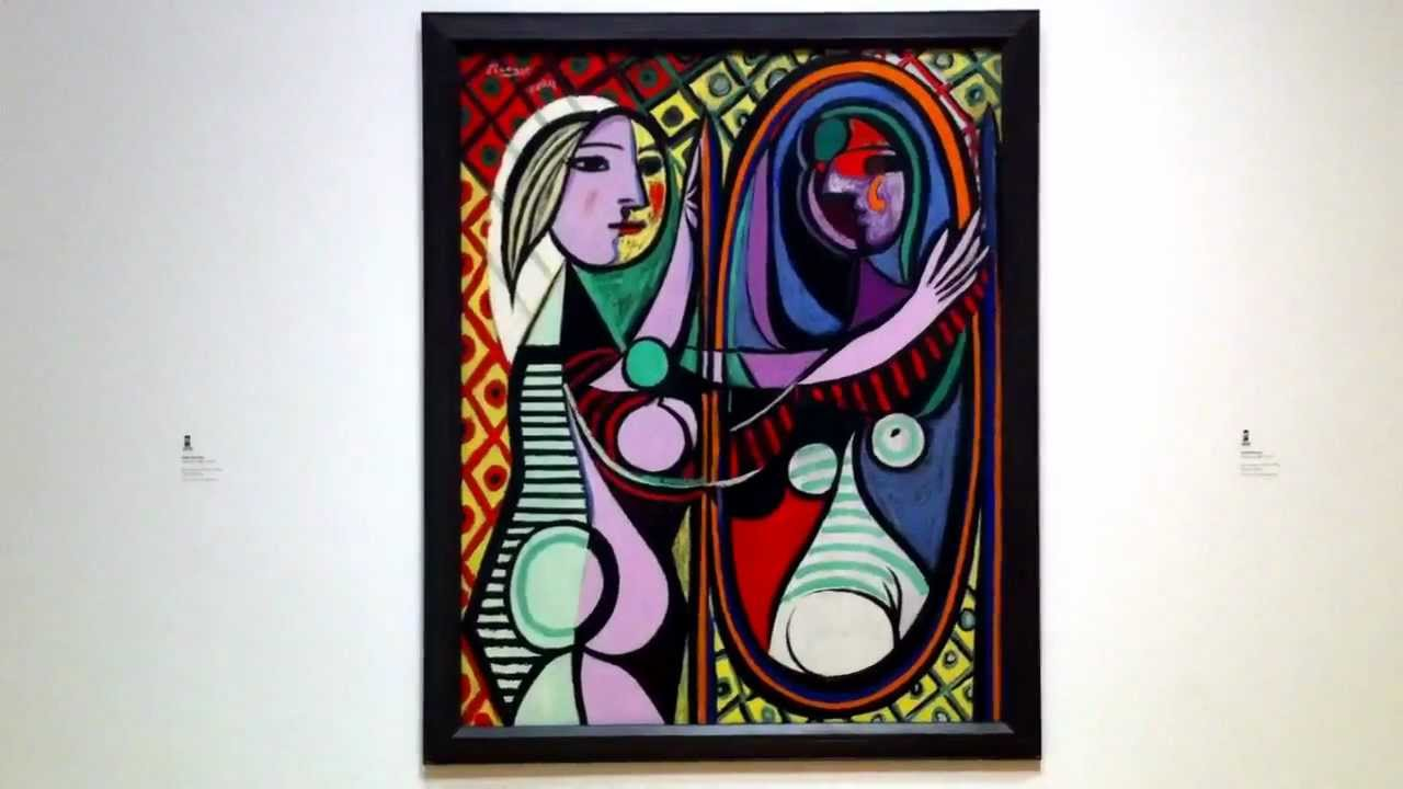 pablo picasso girl before a mirror 1932 youtube. Black Bedroom Furniture Sets. Home Design Ideas