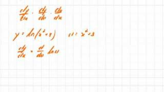 Transcendental Functions 14 Derivative of Natural Log of x Example 1.mov