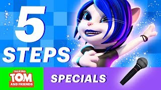 🌟 How to be a Superstar Tips by Talking Angela (Talking Tom and Friends Bonus )