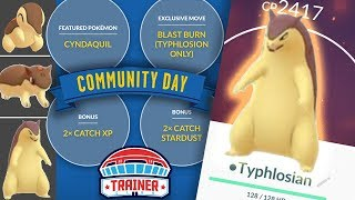 TOP 5 TIPS to MAXIMIZE SHINY CYNDAQUIL COMMUNITY DAY in POKEMON GO!