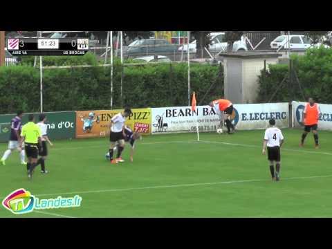 Finale de la petite coupe des landes de football aire sur l 39 adour brocas youtube - Coupe des landes football ...