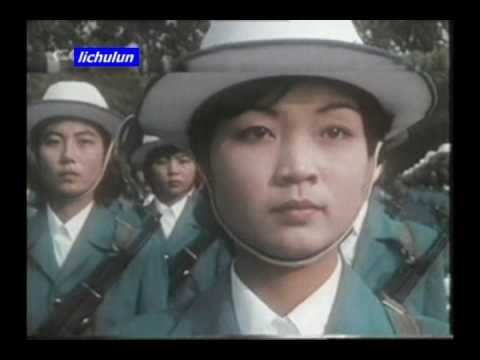 Communist soldier Red China parade Beijing 共产中国北京阅兵