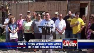 Rep. Grimm Calls on City to Waive Water Bills for Sandy Victims Still Out of Homes (Fox5 NY)