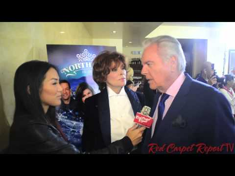 Jill St. John & Robert Wagner at #HallmarkChannel's Premiere #NORTHPOLEMovie #CountdowntoChristmas