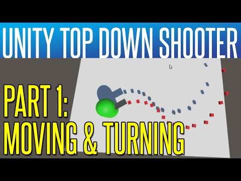 Unity Top Down Shooter #1 - Player Movement & Look