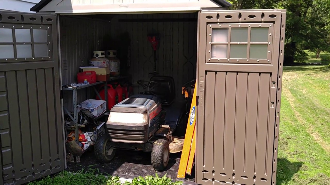 Rubbermaid 7x7 Max Shed Review