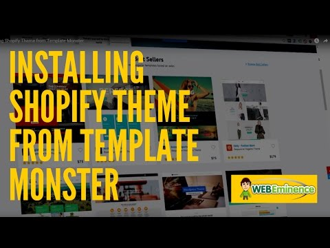 Shopify Themes from Template Monster