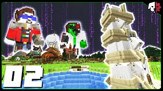 GOATS! BOATS! SHENANIGANS! | HermitCraft 8 | Ep 02 - 2021-06-28T15:03:11Z