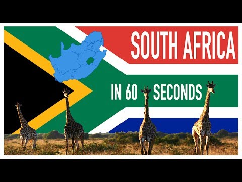 South Africa in 60 Seconds - Travel Vlog