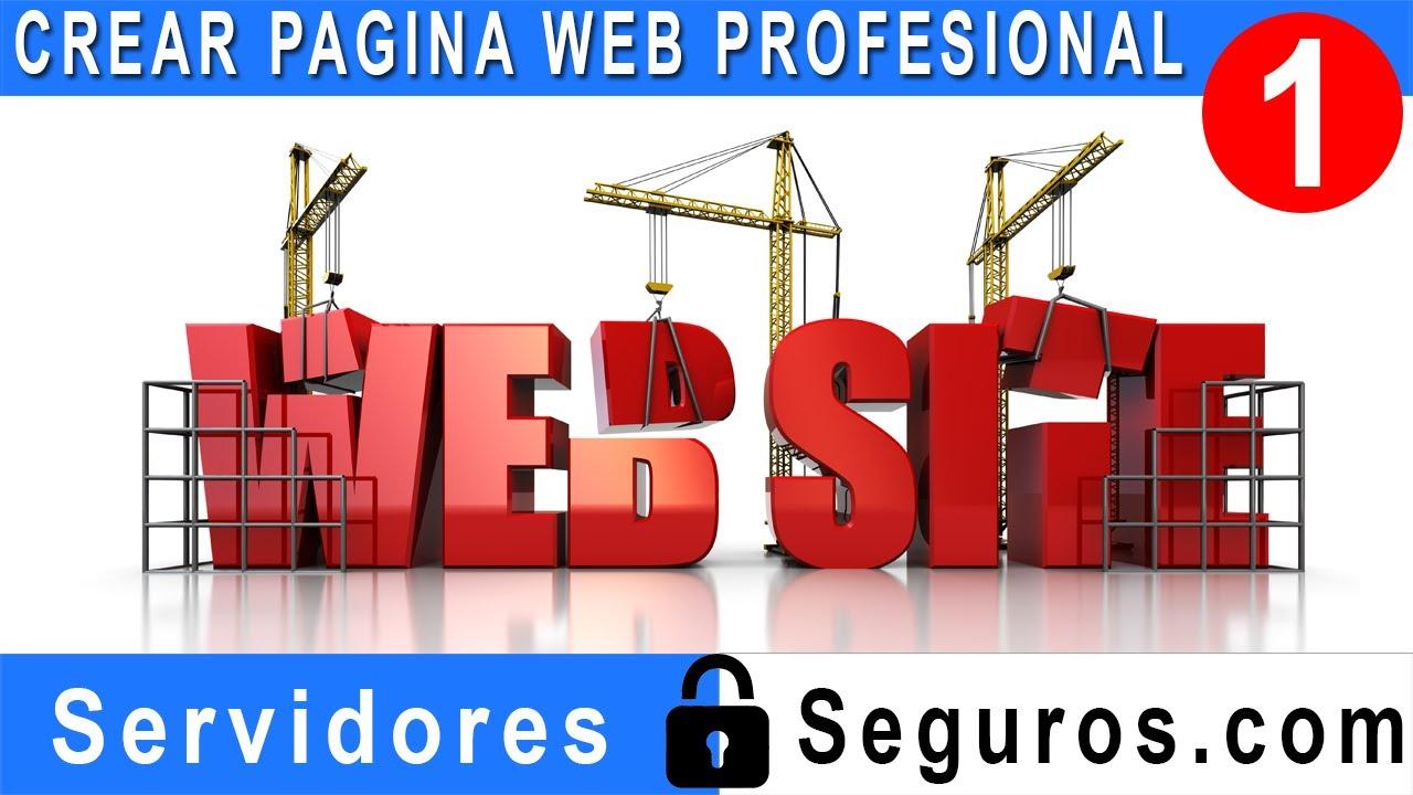 Crear pagina web profesional facil y rapido parte 1 youtube Crear website