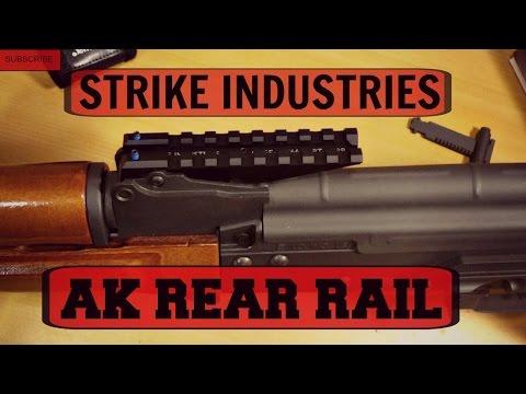 STRIKE INDUSTRIES AK REAR RAIL