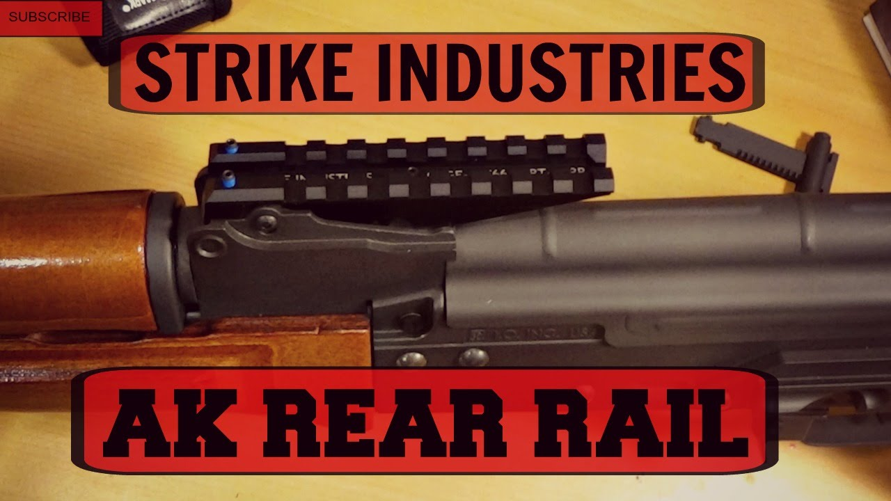 STRIKE INDUSTRIES AK REAR RAIL