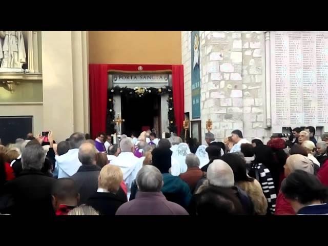 Ouverture de la Porte Sainte, Nice
