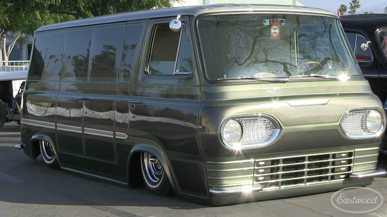 Amazing 1963 ford econoline van at hot rod homecoming eastwood youtube