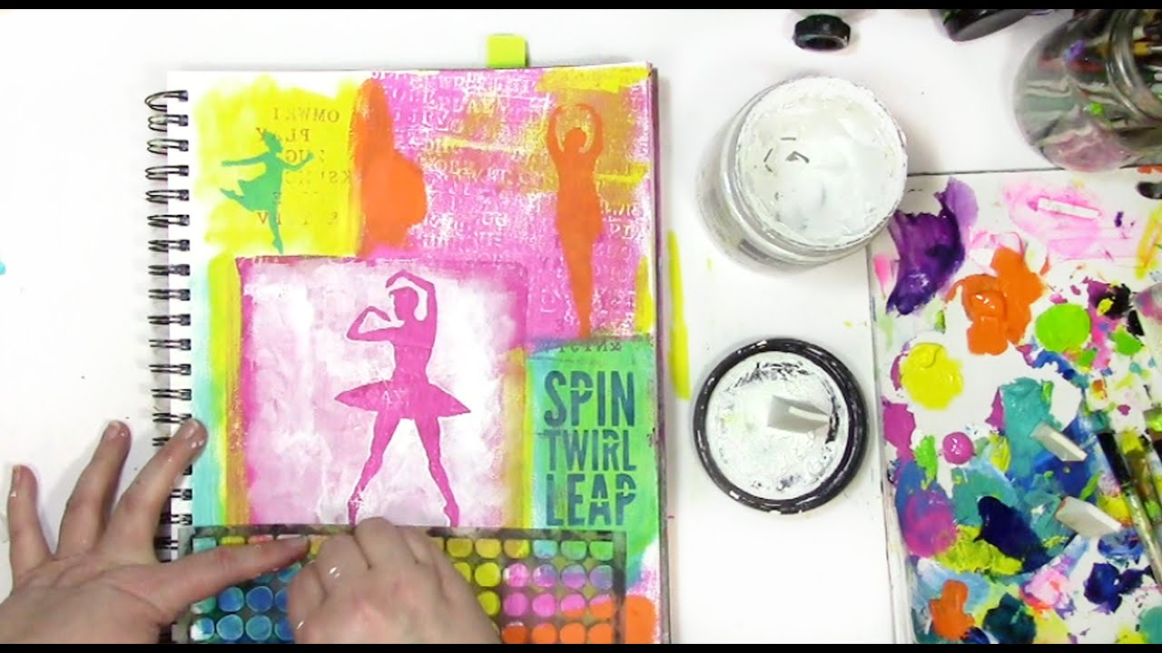How to Use an Art Journal