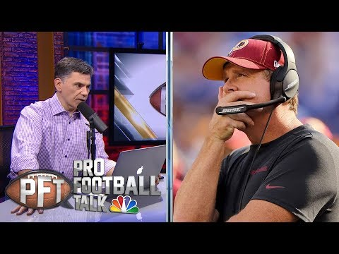 PFT Overtime: Should Washington Redskins Wait To Fire Jay Gruden? | Pro Football Talk | NBC Sports