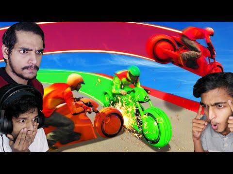 GTA 5 : INTENSE TRON BATTLE !! ft@GAME THERAPIST |