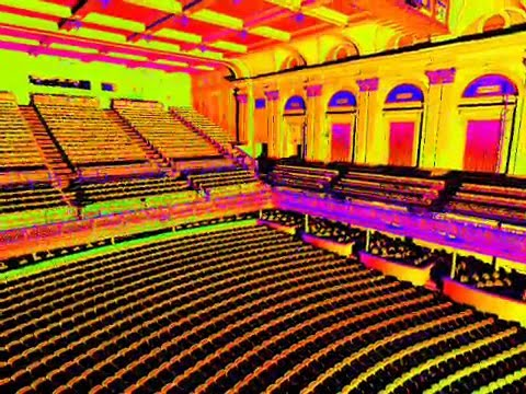Laser Scan of the Lyric Theater in Baltimore