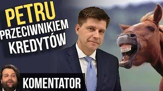 NAJWIĘKSZA WPADKA RYSZARDA PETRU - Petru Przeciwnikiem Kredytów - Koń by się Uśmiał