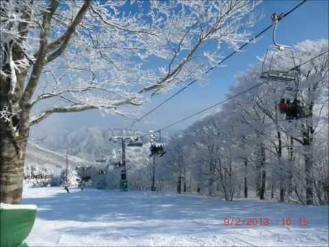 สกีหิมะSnowSki スキー Mizuho High land Hiroshima, Japan .mp4