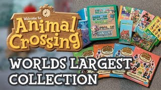 WORLDS LARGEST Animal Crossing Card COLLECTION (e-Reader cards, millefeui & amiibo cards)