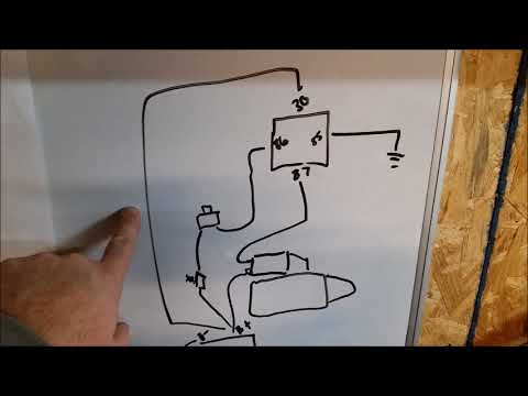 International 454 Tractor Wiring Diagram 91 Honda Crx Radio How To Wire A Push Starter Very Easy Youtube 9 43