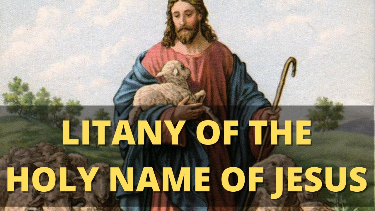 Litany of the Most Holy Name of Jesus