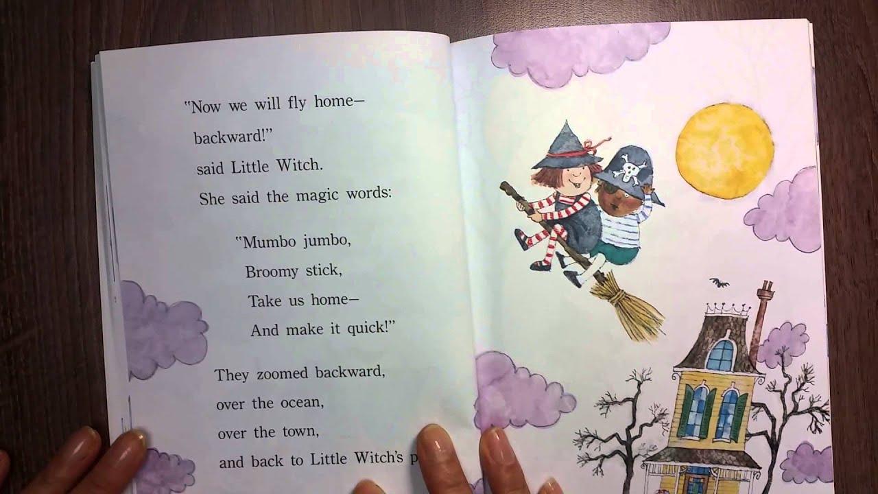잼잼영어: Little Witch's Big Night - YouTube