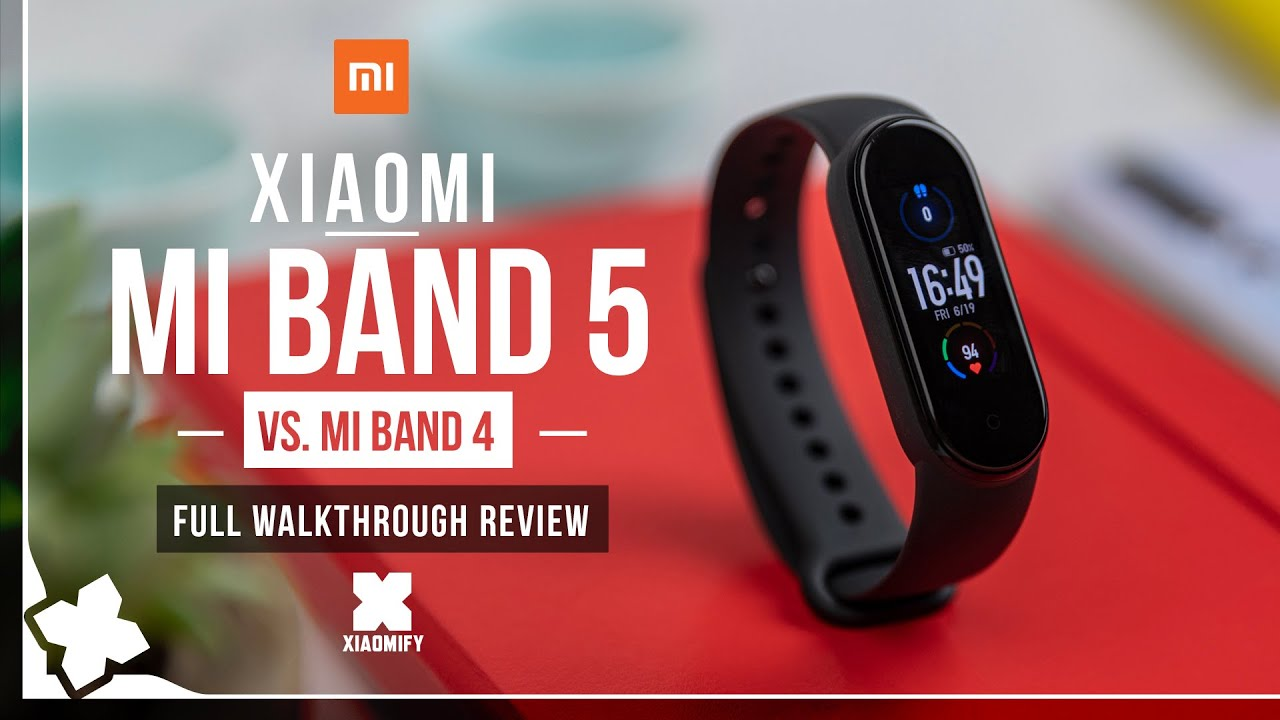 Mi Band 5 - Full Review - vs. Mi band 4 [Xiaomify]
