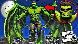 HULK becomes a DEMON in GTA 5