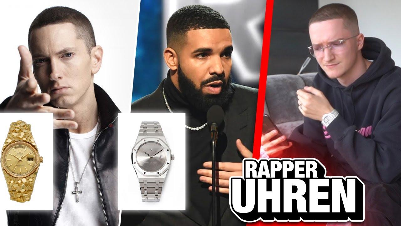 7 merkwürdige Uhren von Rappern! (Eminem, Drake..)