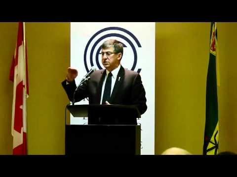 Hon. Ken Krawetz - 2012 Regina Chamber Budget Breakfast