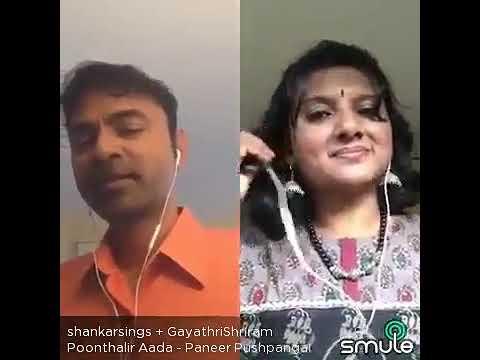 Poonthalir Aada Ponmalar Sooda⚘Wonderful Concord By Shankar&Gayathrishriram⚘