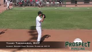 Yuuki Takahashi Prospect Video, RHP, Albany Senior High School Class of 2019x