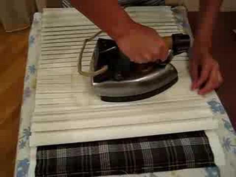 Как погладить гофрированную юбку