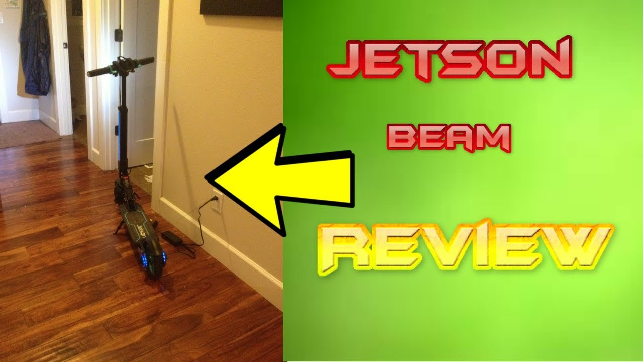 Jetson Beam Electric Scooter Review Youtube