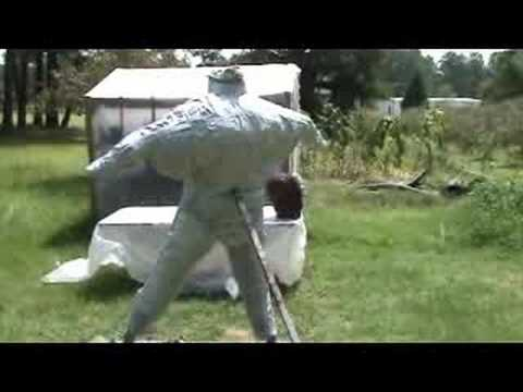 Bigfoot costume - Homemade - How I made & Bigfoot costume - Homemade - How I made - YouTube