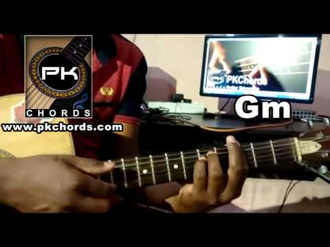 Chal Wahan Jaate Hain-Arijit singh-cover/Guitar Chord Lesson-pkchords