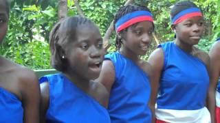Silent Night in French by Wozo, Haiti Youth Choir