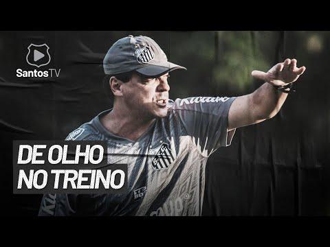 CONFIRA O PRIMEIRO TREINO DE FERNANDO DINIZ NO SANTOS FC